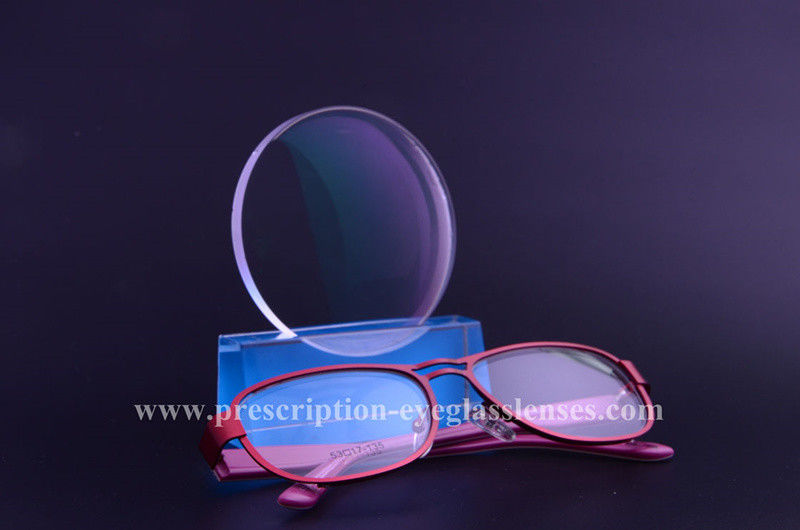 UV420 1.56 Index Anti Blue Ray Lens , Optical Anti Reflective Coating Lenses