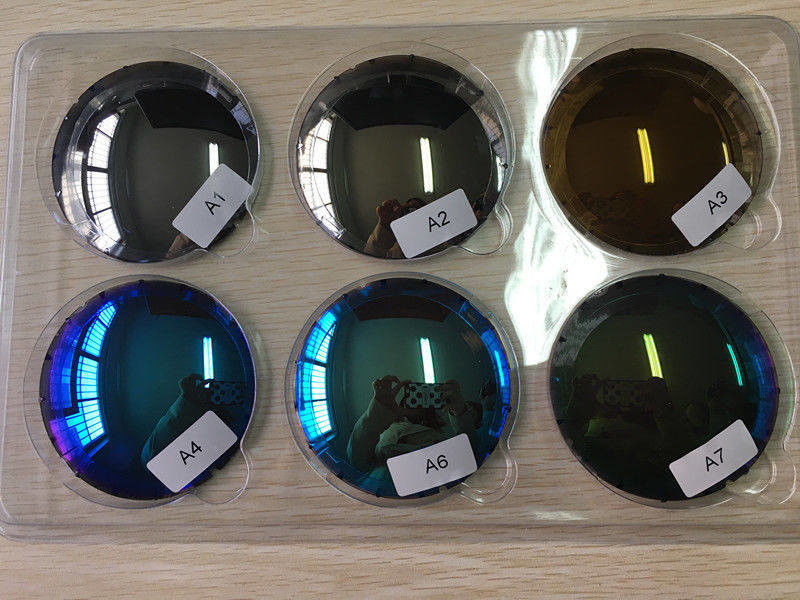 UV Protection Polarized Eyeglass Lenses CR39 1.499 Mirror / Revo Coating