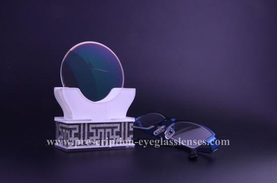 Flat Top Poly Carbon Lenses , Hard Multi Coated 1.59 Polycarbonate Lenses