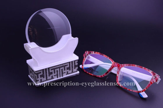 Middle Index 1.56 Flat Top Bifocal Lenses For Presbyopes 94% Transmission